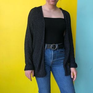 urban outfitters BDG charcoal gray cardigan